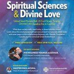 Announcement: Global Peace Through Spiritual Sciences and Divine Love Programme