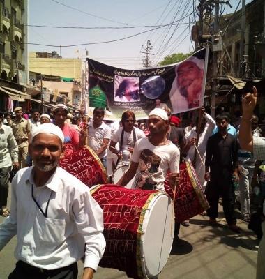 Our Procession in Ajmer, India