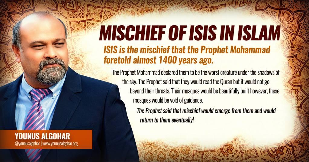 Mischief of ISIS
