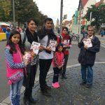 Mission Activities in Domplatz, Erfurt, Germany