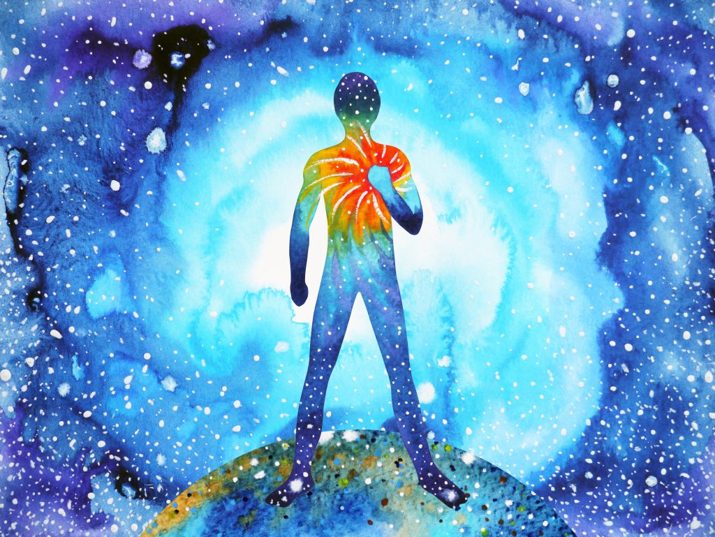Our method is to spiritually remove that negative energy from the body.