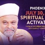 30 July: Urban Wellness Center Spiritual Heart Activation Ceremony