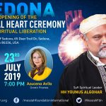 23 July: The Opening of the Spiritual Heart Ceremony in Sedona